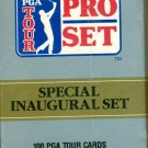 1990 PRO SET GOLF COMPLETE 100 CARD FACTORY SET Jack Nicklaus Stewart