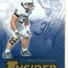 Paul Posluszny Penn State 2007 Press Pass SE Insider Insight #II-18