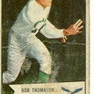 1954 Bowman Football Card# 45 Bobby Thomason Eagles
