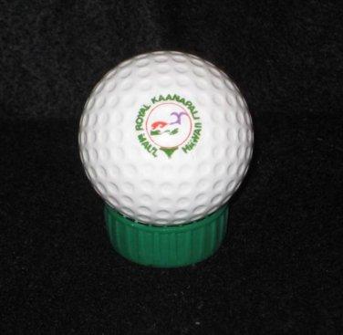 ROYAL KAANAPALI GOLF RESORT..MAUI, HAWAII Logo Golf Ball Vintage No Brand