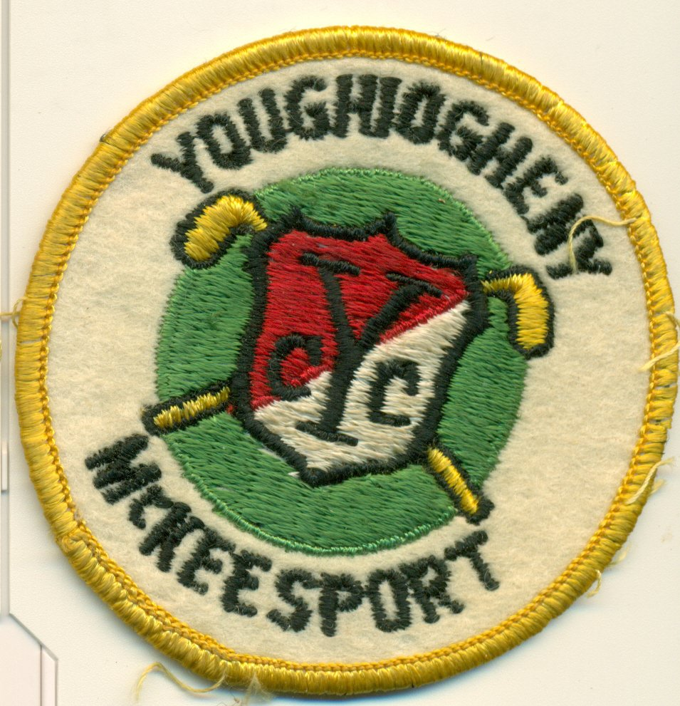 """Vintage Youghiogheny Country Club Felt Patch Golf Course McKeesport, PA YCC 3"""""""