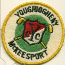 Vintage Youghiogheny Country Club Felt Patch Golf Course McKeesport, PA YCC 3""