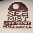 Vintage SEA MIST GOLF RESORT MYRTLE BEACH, SC MESH SNAPBACK HAT Polyester Cap