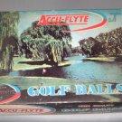 Vintage Accu-Flyte Dozen Golf Balls Complete Japan 7500 New / Unused 4 Sleeves