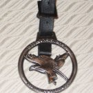 Eagle Glen Golf Course Troon Metal Golf bag Tag w/ Leather Strap Corona, CA