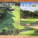 1988 & 1989 US Open Golf Programs Curtis Strange Back to Back Oak Hill