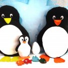 Penguin Sewing Pattern, Plushie Pattern