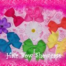 Baby Hair Bow Clips Sampler Collection