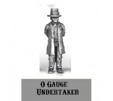 O On30 On3 Undertaker 1/48 scale Western Rails