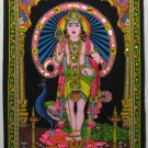 Hindu Deity Kartikay Shiva Son India New Wall Hanging L
