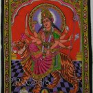 India Hindu Goddess Durga Parvati Uma New Wall Hanging