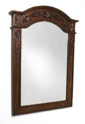*Empire - Traditional Lido Collection Hand Carved Mirror