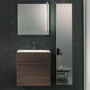 Royo Bath Quadratus 15755-ESPRESSO NOIR Contemporary Walmounted Vanity
