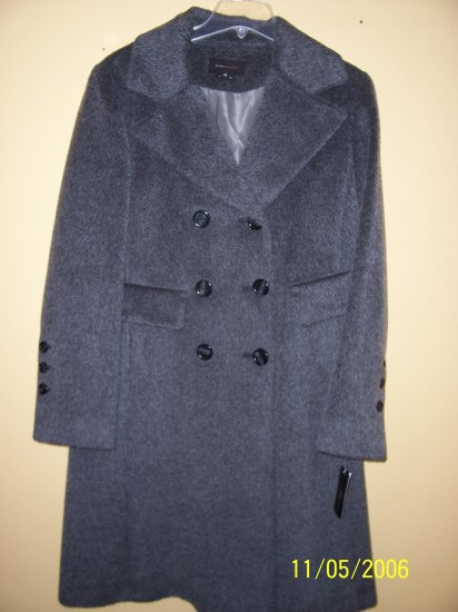 WOMENS DOUBLE BREASTED MOHAIR COAT by BCBG, SZ 12, RET. $625