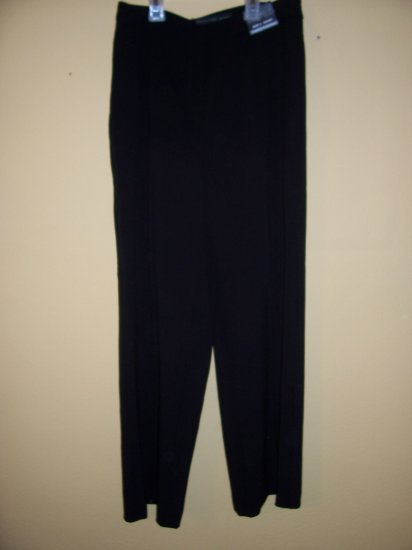 WOMENS BLACK PANTS by GEOFFREY BEENE, SZ 4 SHORT, RET. $49