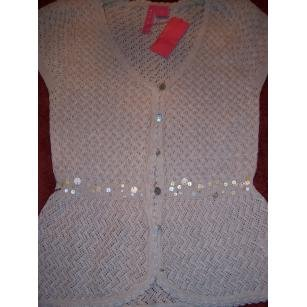 CHARLOTTE TARANTOLA WOMENS SWEATER/TOP, SZ L, RET. $120