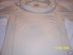 WOMENS 100% CASHMERE SWEATER by NEIMAN MARCUS, SZ LARGE, RET. $125
