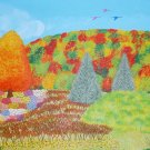 Fall on Kisco Mountain Painting by Alina Deutsch