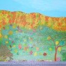 Fall Dance Painting by Alina Deutsch