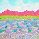 Desert in Bloom Painting by Alina Deutsch