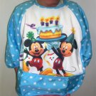 Disney Mickey Happy Brithday Long Sleeved Baby Bib