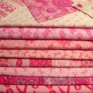 """Bellissima Baby Original Rag Quilt Kit! Breast cancer SURVIVOR -Rag Quilt Kit 84 6"""" Squares"""