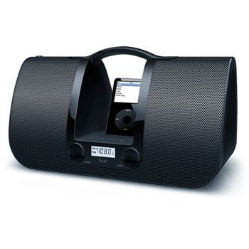 JWIN I552-WHT ILUV IPOD DOCK BLACK
