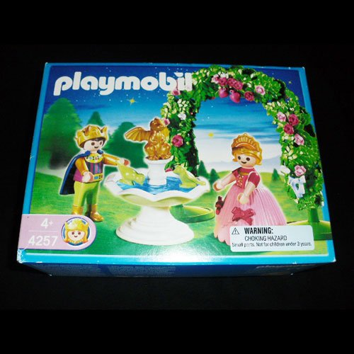 Playmobil 4257 Prince and Princess Retired Royal Castle