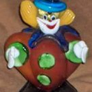 Colorful Murano Art Glass Clown - Delightful. Hand-Blown. Jolly!