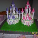 Kingdom of castle princess cake
