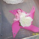 paper rose centerpiece