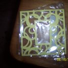 Yellow Paper photo frames