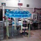 baby shower umbrella blue