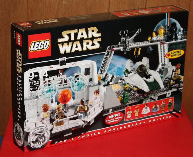 Lego Star Wars Home One Mon Calamari Cruiser - 7754