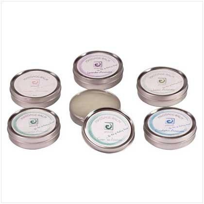 3 Assorted Aromatic Massage Balms