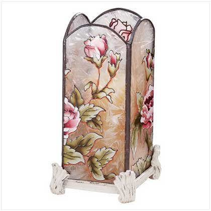 Victorian Rose Votive Holder