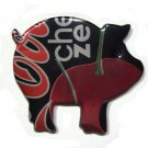 Cips Cherry Coke Zero Pig Magnet - Recycled Can