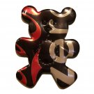 Cips Coke Zero Cola Teddy Bear Magnet - Recycled Can