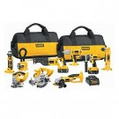 DeWalt DC9PAKRA - Heavy-Duty XRP 18V Cordless 9-Tool Combo Kit