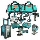Makita LXT600 + 5 TOOLS 18V LXT Lithium-Ion Combi 11 Piece Kit (3 Batteries)