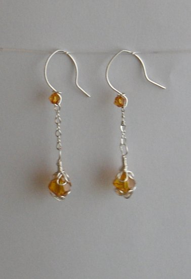 Honey Drop Earring