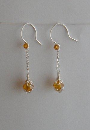 Honey Drop Earring