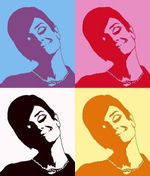 8x10 Audry Hepburn
