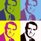 8x10 Cary Grant popart poster