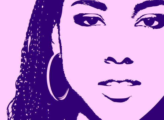 8x10 Alicia Keys Popart Print Celebrity Pop Art Picture