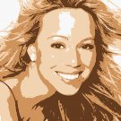 8x10 Mariah Carie Popart Print Celebrity Pop Art Picture