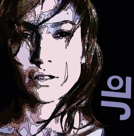 8x10 JLo Jenifer Lopez Popart Print Celebrity Pop Art Picture