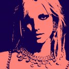 8x10 Britney Spears Popart Print Celebrity Pop Art Picture