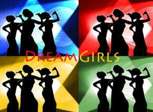 8x10 Dream Girls Beyonce Jennifer Hudson Popart Print Celebrity Pop Art Picture Limited Edition