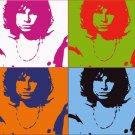 8x10 Jim Morrison Popart Print Celebrity Pop Art Picture Limited Edition
